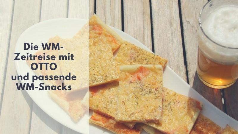 Mini Kühlschrank Otto : Die wm zeitreise mit otto und passende wm snacks