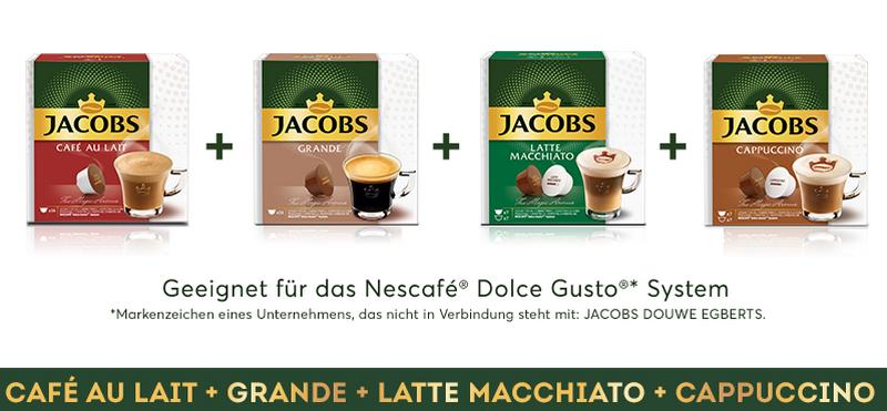 1.000 Tester für die Jacobs Vielfalt für die Nescafé® Dolce Gusto® gesucht