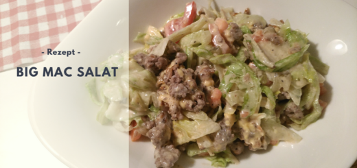Rezept: BIG MAC Salat (low carb)