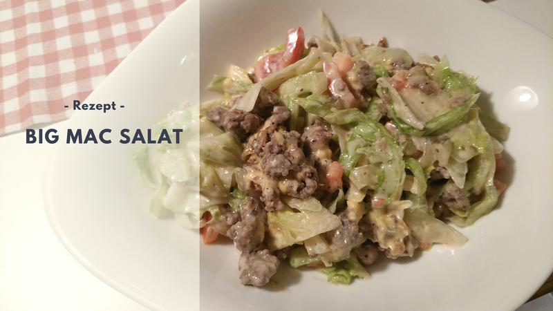 Rezept: BIG MAC Salat (low carb)