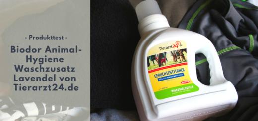 Geheimtipp: Biodor Waschzusatz von Tierarzt24.de gegen Tiergerüche & für Sportklamotten