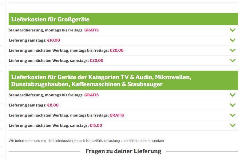 ao.de - Der Onlineshop für Elektrogeräte im Test