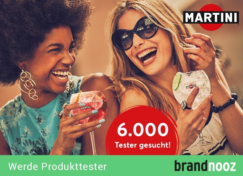 6.000 Tester für MARTINI & Tonic gesucht