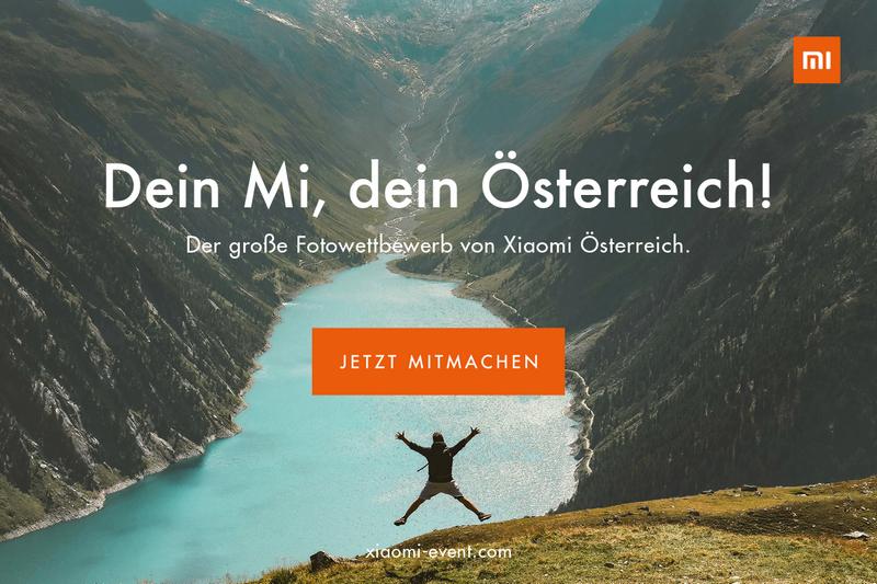 Großer Xiaomi Fotowettbewerb 2019: »Dein Mi, dein Österreich.«