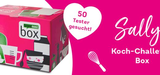 50 Tester für die neue Sallys Koch-Challenge Box