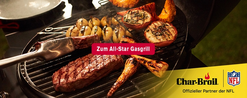Char-Broil All-Star 120 Gasgrill - Lasst die Grillsaison beginnen