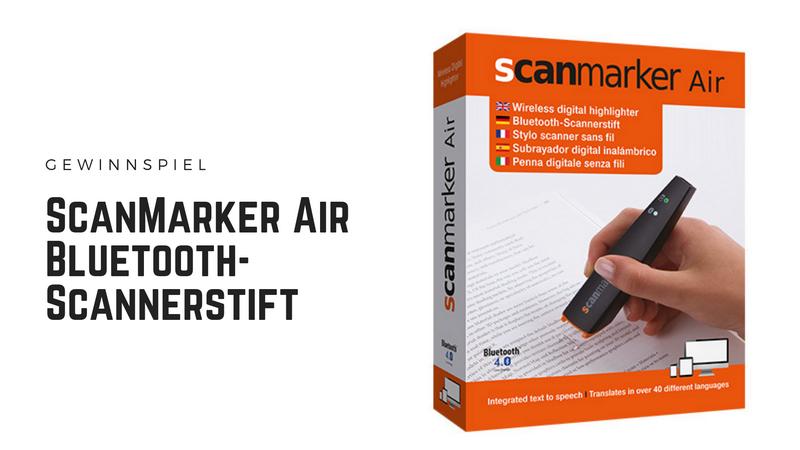ScanMarker Air - Texte einscannen leicht gemacht