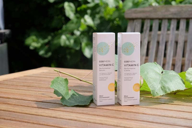 Frische Haut mit dem COSPHERA Vitamin C Pflege-Duo