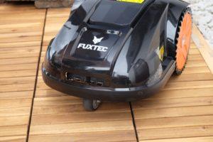 Rasenmähen leicht gemacht mit dem FUXTEC Mähroboter FX-RB144