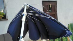 Günstiger Wolketon Sonnenschirm von Hengda.de im Test