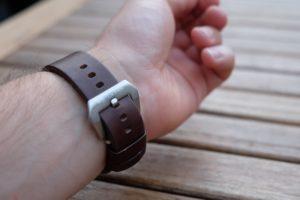 Verschluss und Armband der OTTO WEITZMANN Laptimer 10