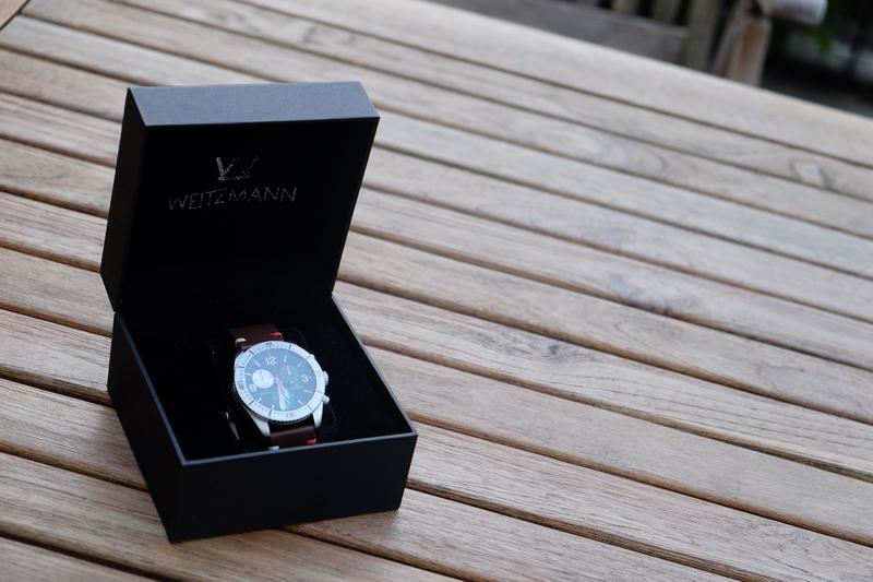 OTTO WEITZMANN Laptimer 10 - Edler Schweizer Chronograph fürs Handgelenk