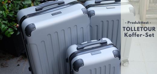 TOLLETOUR Hartschalen-Koffer-Set von Hengda.de im Test