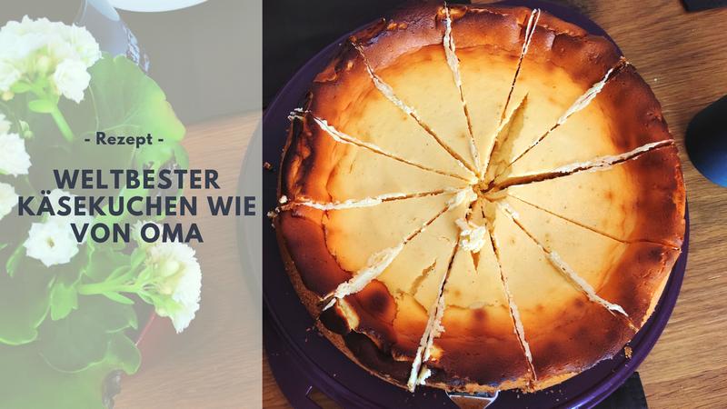 Rezept: Weltbester Käsekuchen wie von Oma
