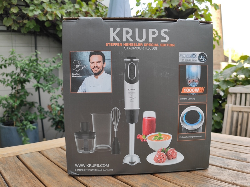 Krups HZ656815 Stabmixer Special Edition Steffen Henssler
