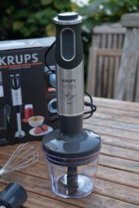 Perfekt püriert mit dem Krups HZ6568 Steffen Henssler Special Edition Stabmixer