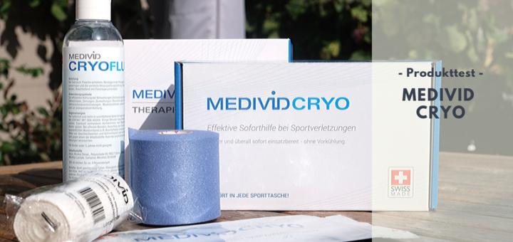 MEDIVID CRYO - Schnelle & effektive Hilfe bei Zerrungen, Schwellungen, Entzündungen & Co.