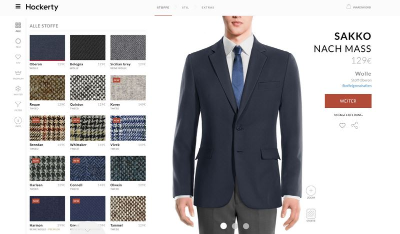 Hockerty - Perfektes Äußeres mit maßgeschneiderter Kleidung