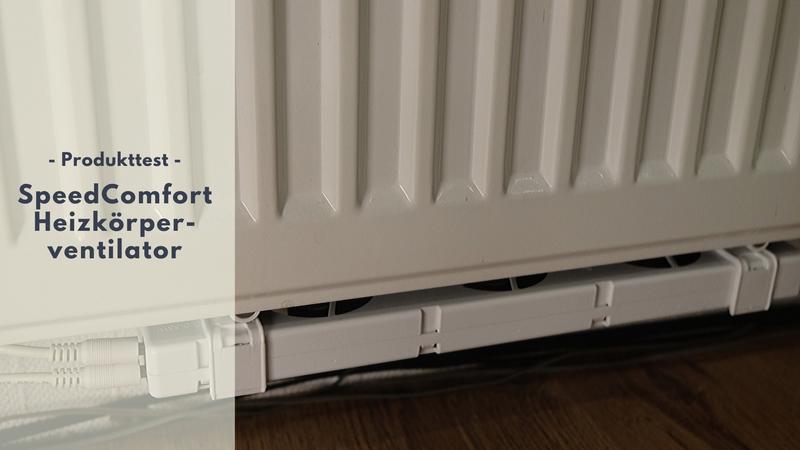 SpeedComfort Heizkörperventilatoren - Energie sparen leicht gemacht