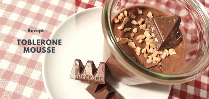 Rezept: Toblerone Mousse (ohne Ei)