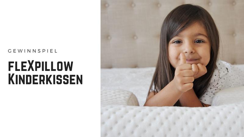 fleXpillow Kinderkissen - Für den gesunden Schlaf der Kleinen
