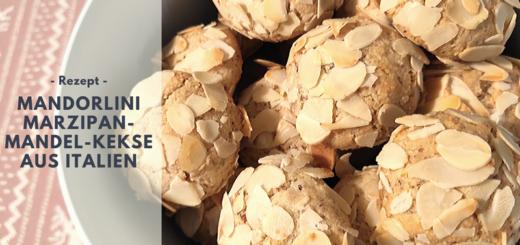 Rezept: Mandorlini - Marzipan-Mandel-Kekse aus Italien