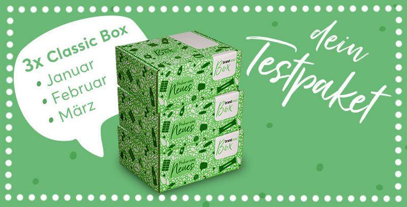 100 Tester für brandnooz Classic Box gesucht