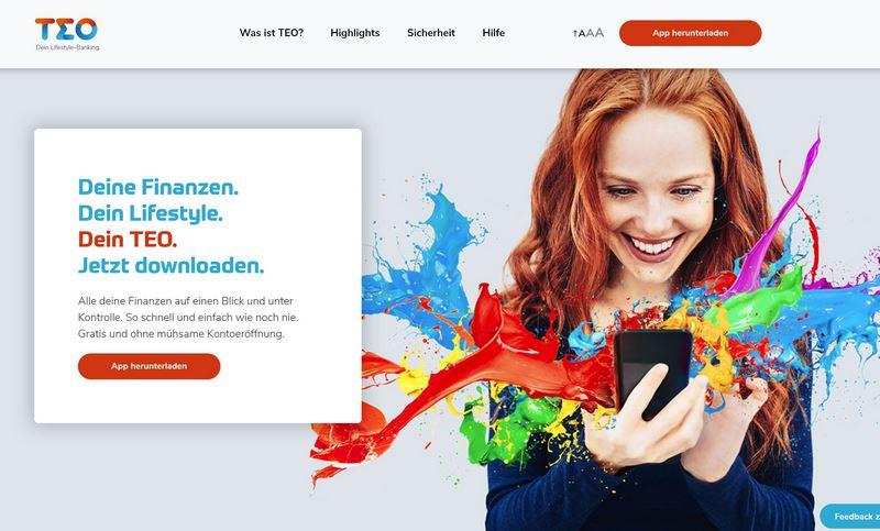 TEO - Deine Lifestyle-Banking App vorgestellt