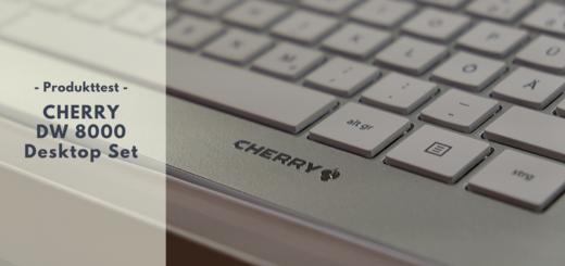 CHERRY DW 8000 - Das puristische Desktop Set für Vielschreiber
