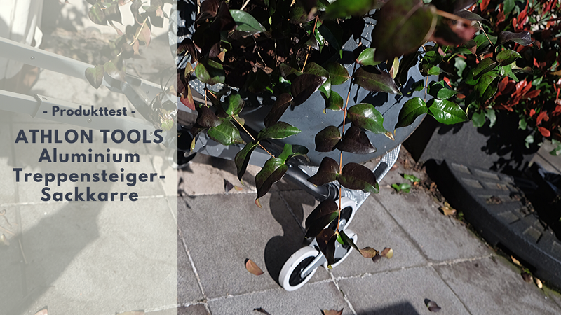 ATHLON TOOLS Aluminium Treppensteiger-Sackkarre - praktisch, stabil & kompakt