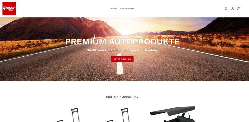 ATHLON TOOLS Homepage