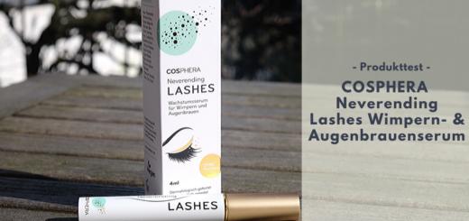 COSPHERA Neverending Lashes Wimpern- & Augenbrauenserum für einen perfekten Augenaufschlag