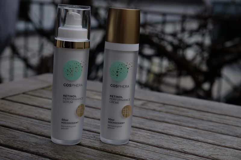 COSPHERA Retinol Performance Creme & Serum - Echte Frische für die Haut