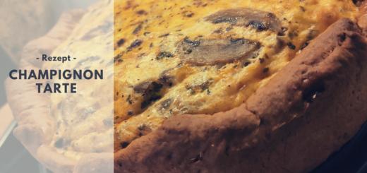 Rezept: Champignon Tarte