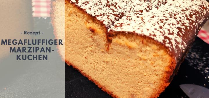 Rezept: Megafluffiger Marzipankuchen ohne Mehl aus nur drei Zutaten