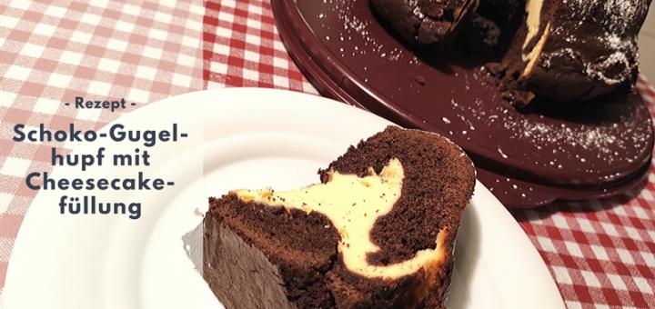 Rezept: Schoko-Gugelhupf mit Cheesecakefüllung