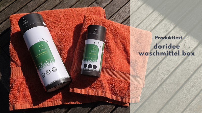 doridee Waschmittel – umweltschonend Wäsche waschen