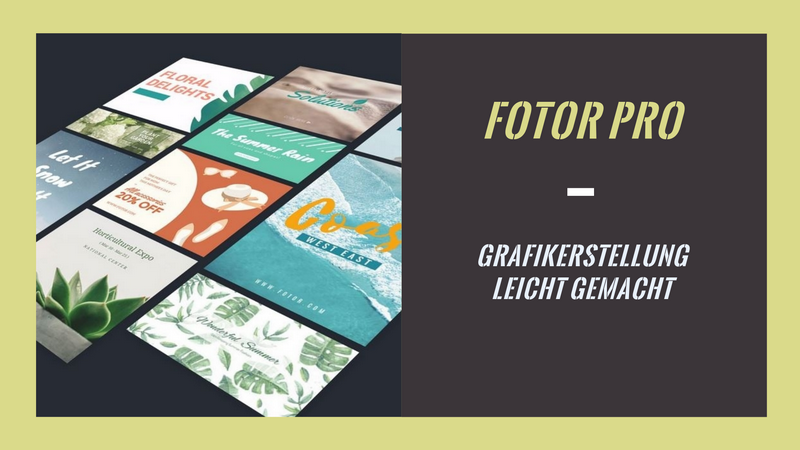 fotor.com - Fotodesign und Grafikerstellung leicht gemacht