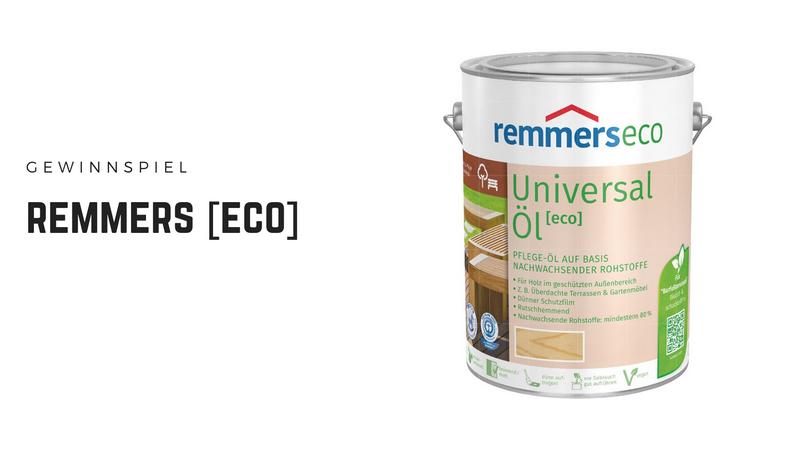 remmers [eco] - ökologische und wohngesunde Holzveredelung & Holzschutz ohne schlechtes Gewissen