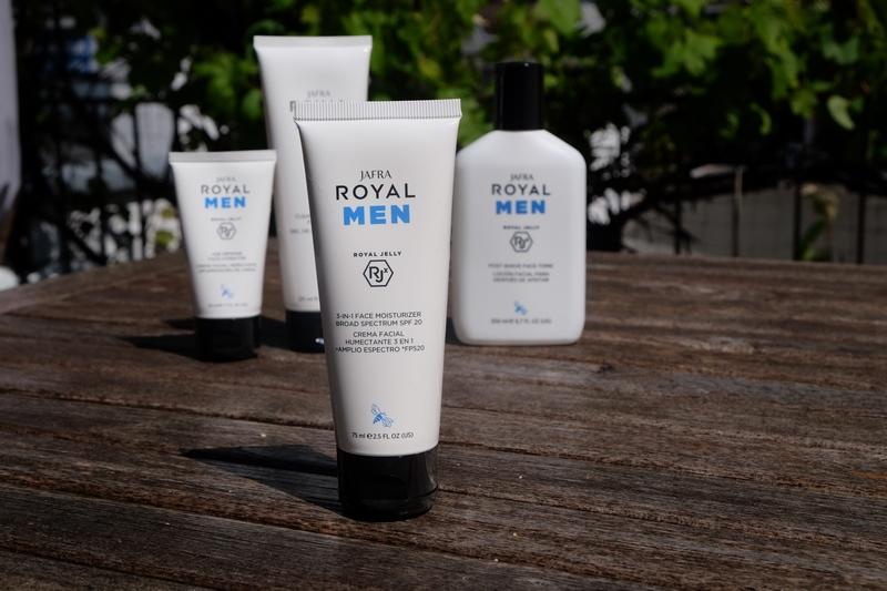 JAFRA ROYAL MEN Gesichtspflege für das tägliche Pflegeritual