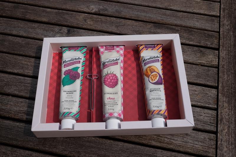 Marmetube - Die leckeren Summer Edition Fruchtaufstriche aus der Tube