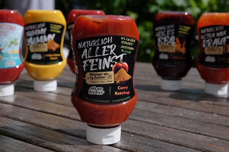 OHSO Lecker Saucen - natürlich, kalorienarm und trotzdem unglaublich lecker