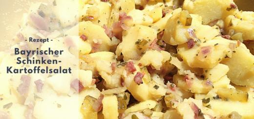 Rezept: Bayrischer Schinken-Kartoffelsalat