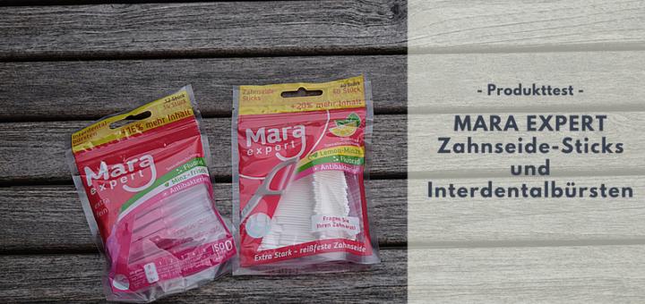 MARA EXPERT Zahnseide-Sticks & Interdentalbürsten für saubere Zahnzwischenräume