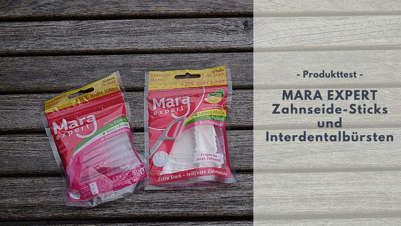 MARA EXPERT Zahnseide Sticks und Interdentalbürsten