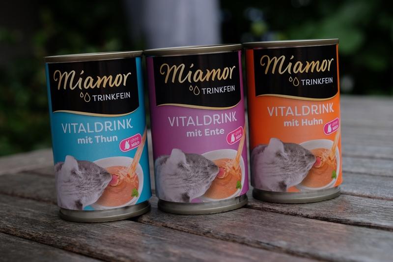 Miamor TRINKFEIN Vitaldrink - Athos & Portos lieben ihn