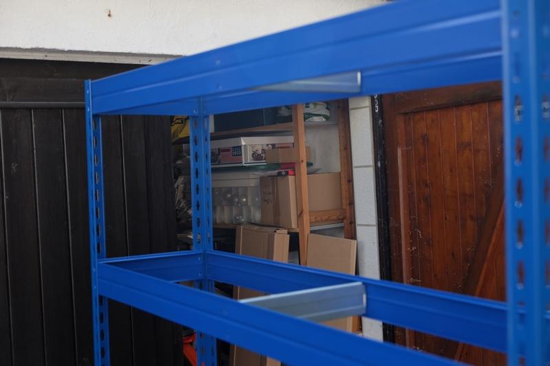 MASTER REGALE Schwerlastregal - Endlich Ordnung in der Garage