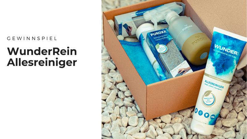 Gewinnt WunderRein Premium- & Testboxen