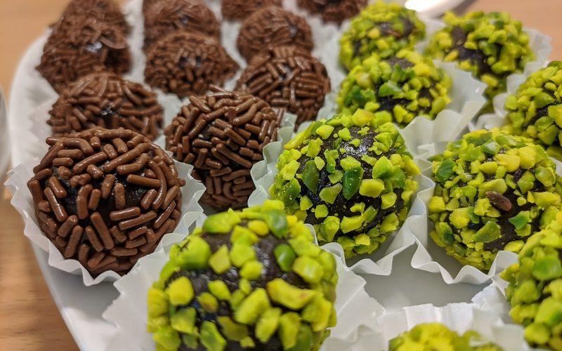 Rezept: Brazilian Choco-Fudge Balls