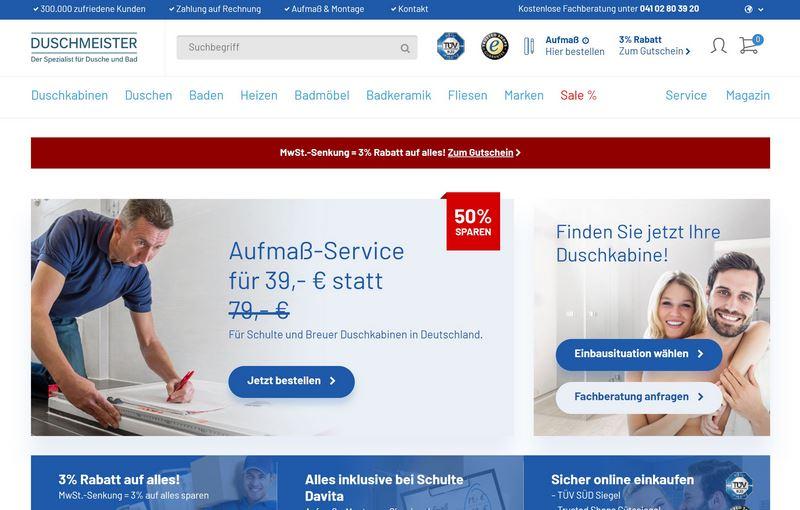 Duschmeister.de - Perfekte Lösungen für jede Badsanierung